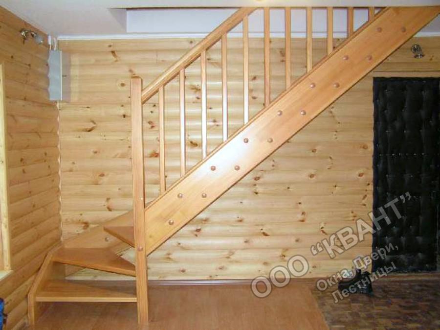 Деревянная лестница для дачи своими руками как сделать 50